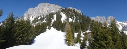 Βουνό Rote Flà ¼ χ Αυστρία άποψης στοκ φωτογραφίες με δικαίωμα ελεύθερης χρήσης