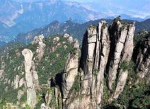 βουνό sanqingshan Στοκ Εικόνες