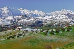 Σειρά Ιταλία βουνών Στοκ εικόνα με δικαίωμα ελεύθερης χρήσης