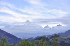 Βουνό Siguniang (βουνό τεσσάρων κοριτσιών) Στοκ Φωτογραφία