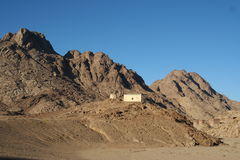 Βουνό Sinai Στοκ εικόνα με δικαίωμα ελεύθερης χρήσης
