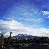 Βουνό Snowden Στοκ Εικόνες