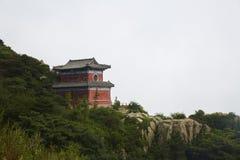 Βουνό Taishan, Shandong, Κίνα στοκ εικόνα με δικαίωμα ελεύθερης χρήσης