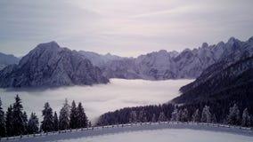 Βουνό Tarvisio, Ιταλία στοκ εικόνες με δικαίωμα ελεύθερης χρήσης