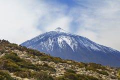 Βουνό teide EL Στοκ φωτογραφία με δικαίωμα ελεύθερης χρήσης