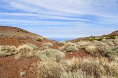 Βουνό teide EL Στοκ Φωτογραφίες