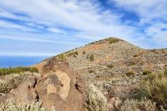 Βουνό teide EL Στοκ φωτογραφίες με δικαίωμα ελεύθερης χρήσης
