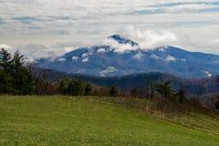 Βουνό Thaxton, εξόγκωμα πάνθηρων και βουνό Cahas βουνών Cahas στοκ φωτογραφία