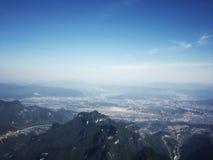 Βουνό Tianmen στοκ εικόνες