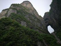 Βουνό Tianmen στοκ φωτογραφία