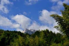 Βουνό Tianzhu, επαρχία AnHui, Κίνα Στοκ Φωτογραφία