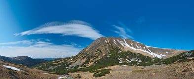 Βουνό Tomnatyk Gutyn Στοκ φωτογραφία με δικαίωμα ελεύθερης χρήσης