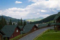 Βουνό villarge Στοκ φωτογραφία με δικαίωμα ελεύθερης χρήσης