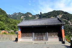 Βουνό Wudang, διάσημοι ταοϊστικοί Άγιοι Τόποι στην Κίνα Στοκ εικόνα με δικαίωμα ελεύθερης χρήσης