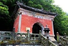 Βουνό Wudang, διάσημοι ταοϊστικοί Άγιοι Τόποι στην Κίνα Στοκ φωτογραφίες με δικαίωμα ελεύθερης χρήσης