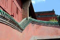Βουνό Wudang, διάσημοι ταοϊστικοί Άγιοι Τόποι στην Κίνα Στοκ φωτογραφία με δικαίωμα ελεύθερης χρήσης