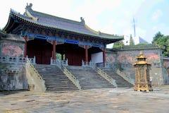Βουνό Wudang, διάσημοι ταοϊστικοί Άγιοι Τόποι στην Κίνα Στοκ Εικόνες