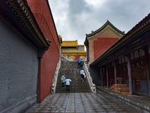 Βουνό Wutai στοκ εικόνα με δικαίωμα ελεύθερης χρήσης