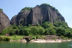 Βουνό Wuyi Στοκ φωτογραφίες με δικαίωμα ελεύθερης χρήσης