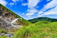 Βουνό Yangmingshan στο Ταιπέι, Ταϊβάν Στοκ φωτογραφία με δικαίωμα ελεύθερης χρήσης