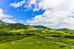 Βουνό Yangmingshan στο Ταιπέι, Ταϊβάν Στοκ Εικόνα