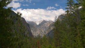 Βουνό Yosemite timelapse απόθεμα βίντεο