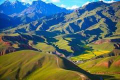 Βουνό Zall στοκ εικόνα