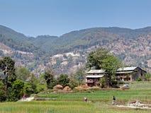 Βουνών στο Νεπάλ Στοκ φωτογραφίες με δικαίωμα ελεύθερης χρήσης