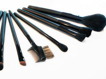 βουρτσίζει makeup Στοκ Φωτογραφία