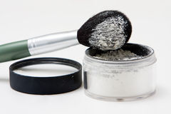 βουρτσίστε τη σκόνη Στοκ Φωτογραφίες