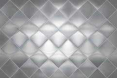 Βουρτσισμένος τοίχος φύλλων ανοξείδωτου κεραμιδιών διαμαντιών, πάτωμα, backgrou Στοκ Εικόνες