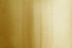 βουρτσισμένο χρυσό μέταλλο Στοκ φωτογραφία με δικαίωμα ελεύθερης χρήσης