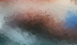 Βουρτσισμένο χρωματισμένο αφηρημένο υπόβαθρο Βούρτσα που κτυπιέται Αφηρημένη ζωγραφική ταπετσαριών Στοκ Φωτογραφία