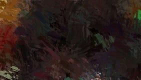 Βουρτσισμένο χρωματισμένο αφηρημένο υπόβαθρο Βούρτσα που κτυπιέται Αφηρημένη ζωγραφική ταπετσαριών Στοκ φωτογραφία με δικαίωμα ελεύθερης χρήσης