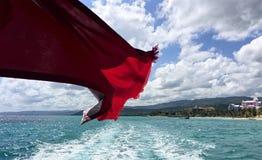Βουτήξτε σημαία Στοκ Εικόνες