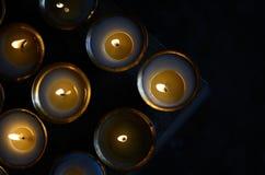 Βουτύρου λαμπτήρες Στοκ Φωτογραφίες