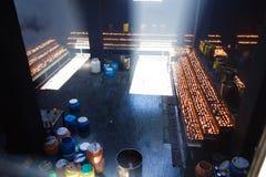 Βουτύρου λαμπτήρες Στοκ εικόνες με δικαίωμα ελεύθερης χρήσης