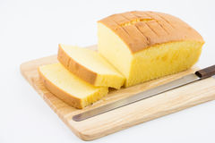βουτύρου κέικ εύγευστο Στοκ φωτογραφία με δικαίωμα ελεύθερης χρήσης