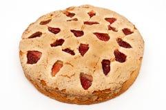 Βουτύρου κέικ φραουλών, φρέσκο σπιτικό καλό γεύμα αρτοποιείων Στοκ Εικόνες