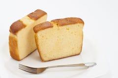 βουτύρου κέικ Στοκ Εικόνα