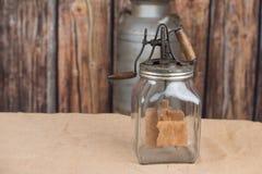 Βουτύρου καρδάρι Στοκ φωτογραφία με δικαίωμα ελεύθερης χρήσης