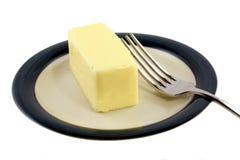 βουτύρου πιάτο Στοκ φωτογραφία με δικαίωμα ελεύθερης χρήσης
