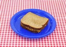 βουτύρου σάντουιτς φυσ Στοκ Εικόνες