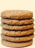 βουτύρου φυστίκι μπισκότων Στοκ Εικόνες