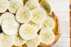 Βουτύρου ψωμί μπανανών, μπανάνα φρυγανιάς μελιού Στοκ εικόνα με δικαίωμα ελεύθερης χρήσης