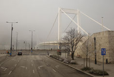 Βουδαπέστη η γέφυρα της Elizabeth Στοκ φωτογραφία με δικαίωμα ελεύθερης χρήσης