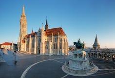 Βουδαπέστη - Mathias Church στην ημέρα στοκ φωτογραφία με δικαίωμα ελεύθερης χρήσης