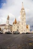 Βουδαπέστη. Matthias Church Στοκ Εικόνες