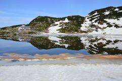Βουλγαρία Rila - επτά λίμνες Στοκ Εικόνες
