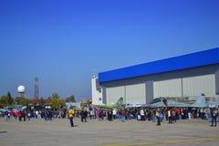 Βουλγαρικές ανοιχτές πόρτες Πολεμικής Αεροπορίας Στοκ εικόνα με δικαίωμα ελεύθερης χρήσης